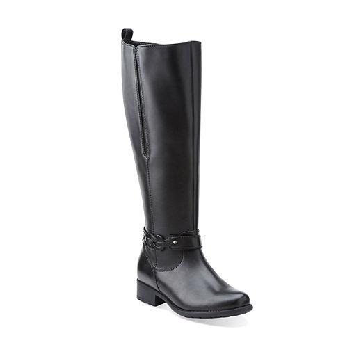Clarks® Plaza Impress Comfort Riding Boots