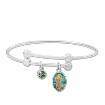 Disney Tinkerbell Brass Adjustable Bangle Bracelet