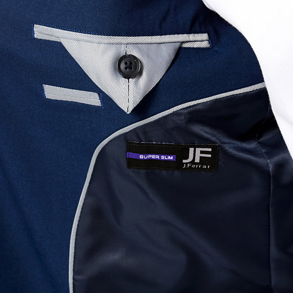 JF J. Ferrar® Blue Stretch Jacket - Super Slim-Fit