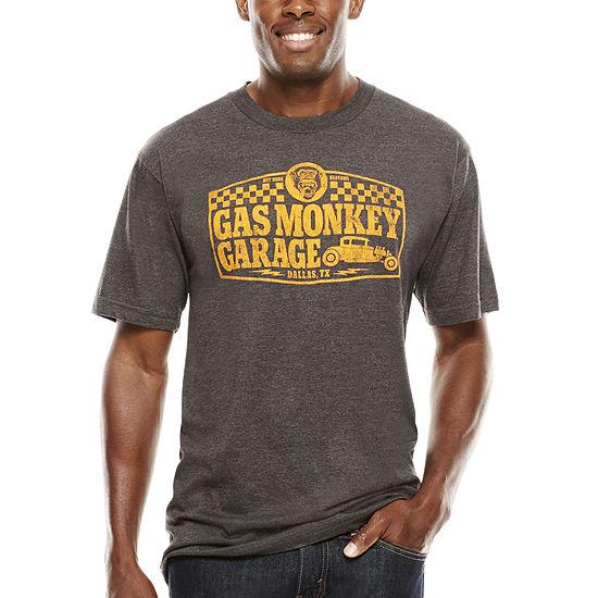 Gas Monkey Short Sleeve Tee Big Tall