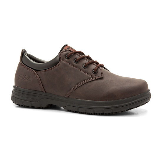 Fila Memory Blake Slip-Resistant Work Mens Walking Shoes