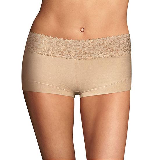 Maidenform Dream Cotton Knit Boyshort Panty 40859