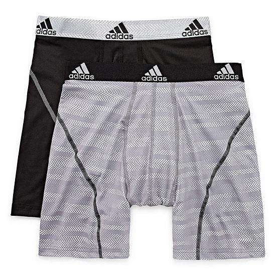 adidas® 2-pk. Sport Performance climalite® Graphic Boxer Briefs