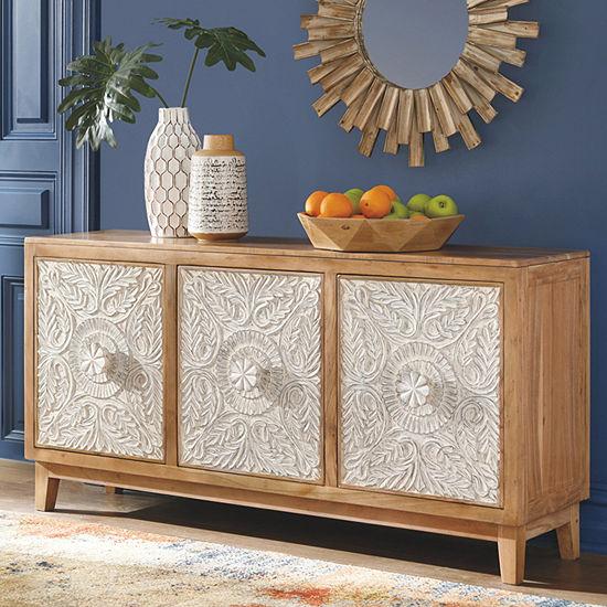 Signature Design by Ashley® Lorenburg Accent Cabinet