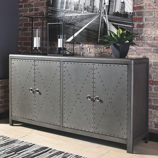 Signature Design by Ashley Rock Ridge Accent Cabinet