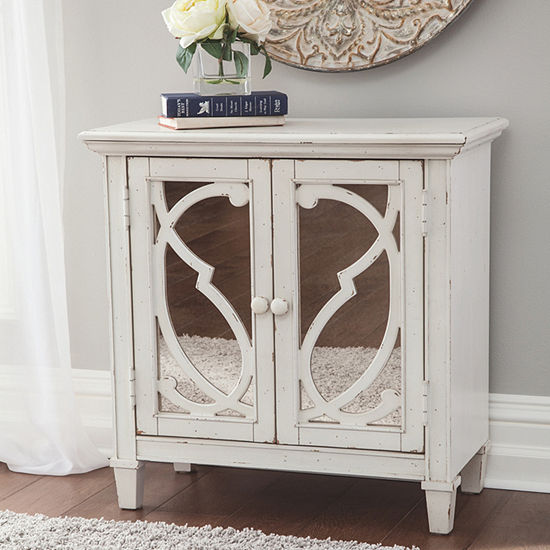 Signature Design By Ashley Mirimyn Accent Cabinet