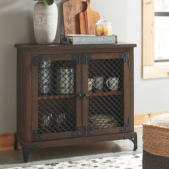 Signature Design By Ashley Havendale Accent Cabinet