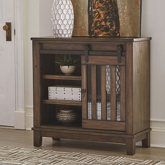 Signature Design By Ashley Brookport Accent Cabinet