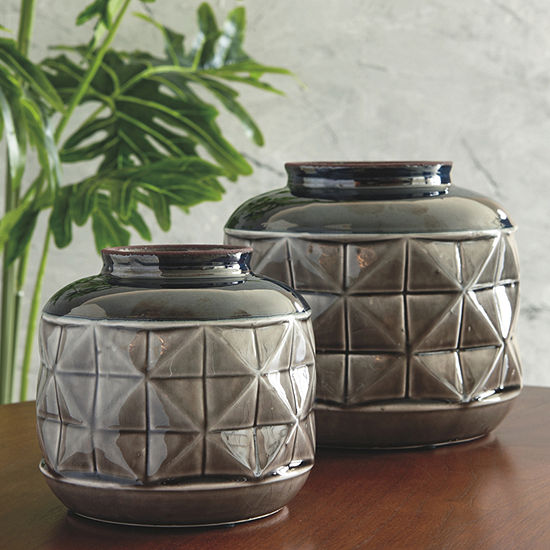 Signature Design by Ashley Eire 2-pc. Vase