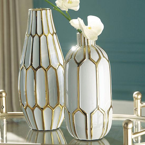 Signature Design by Ashley Mohsen 2-pc. Vase
