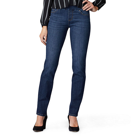 Lee® Sculpting Pull On Womens Mid Rise Slim Fit Jean
