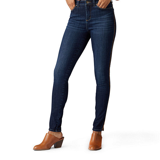 Lee Sculpting Womens Mid Rise Skinny Fit Jean