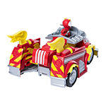 Mighty Pups Super S Chases Powered Up Cruiser Transforming Vehicle