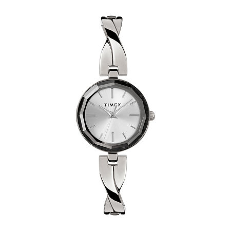 Timex Womens Silver Tone Bracelet Watch - Tw2t49400ji, One Size