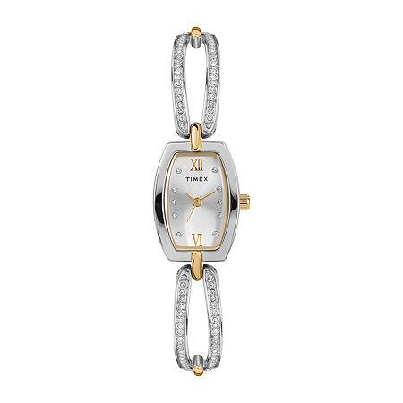 Timex Womens Two Tone Bracelet Watch - Tw2t58400ji, One Size