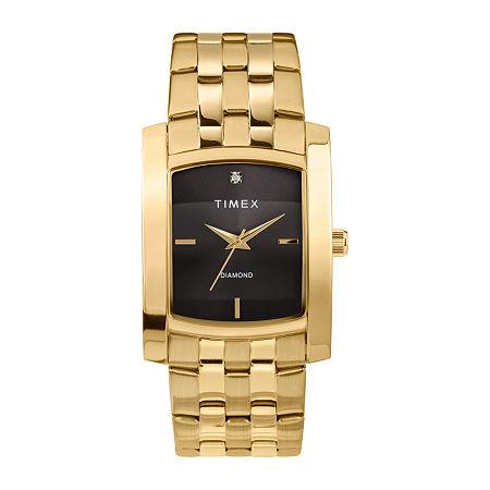 Timex Mens Gold Tone Stainless Steel Bracelet Watch - Tw2t60700ji, One Size