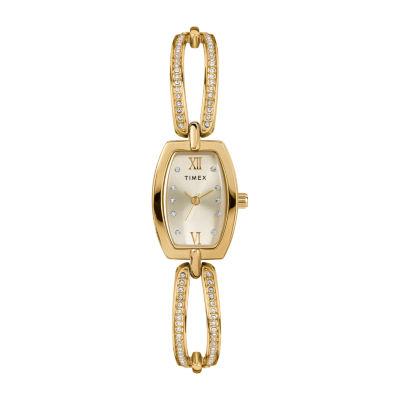 Timex Womens Gold Tone Bracelet Watch Tw2t58300ji