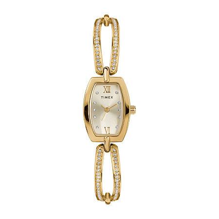 Timex Womens Gold Tone Bracelet Watch - Tw2t58300ji, One Size