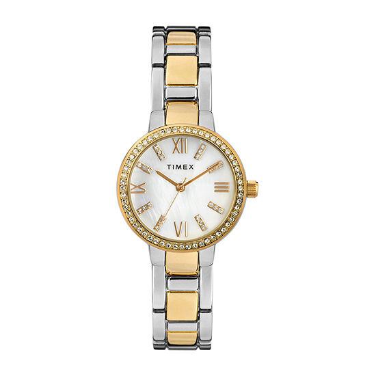 Timex Womens Two Tone Bracelet Watch - Tw2t58800ji