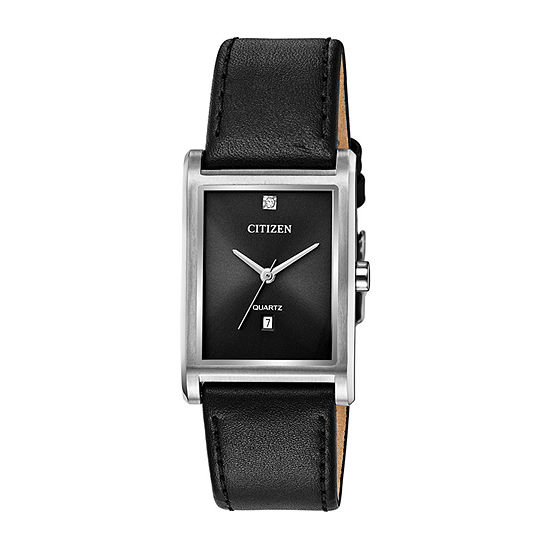 Citizen Quartz Mens Black Strap Watch-Bh3001-14h
