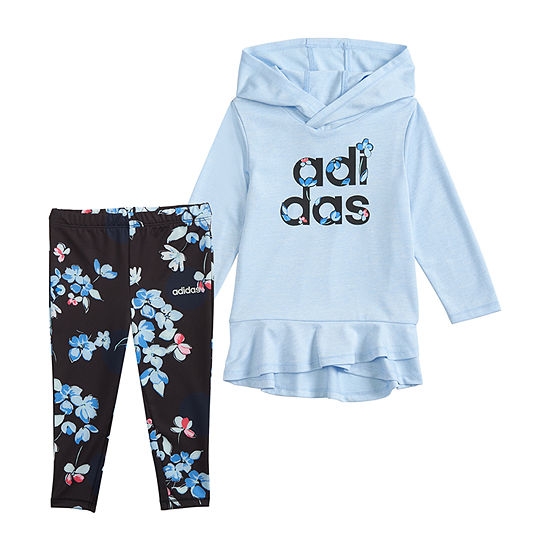adidas 2-pc. Legging Set-Preschool Girls