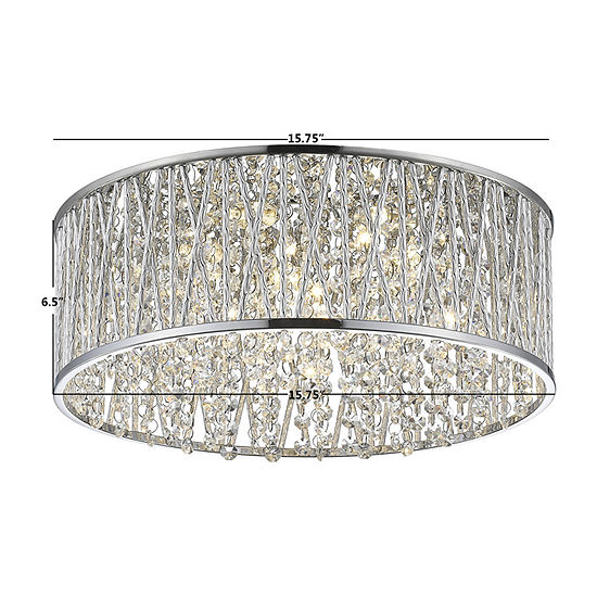Decor Therapy Flush Mount Lighting
