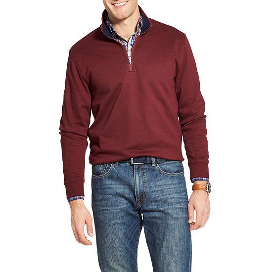IZOD Advantage Fleece Quarter Zip Pullover
