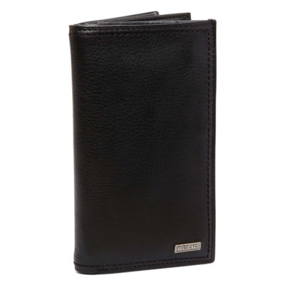 Relic® Mark Leather Checkbook Wallet