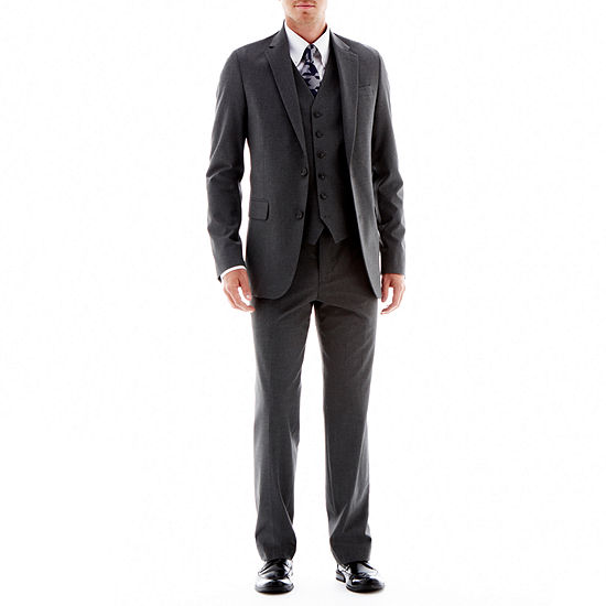 JF J. Ferrar® Stretch Gabardine Suit Separates - Super Slim