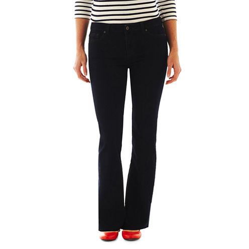 Liz Claiborne® 5-Pocket Classic Bootcut Jeans