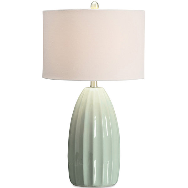 Jcpenney home light green ceramic table lamp jcpenney jcpenney home light green ceramic table lamp mozeypictures Choice Image