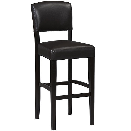 Brady Upholstered Barstool with Back