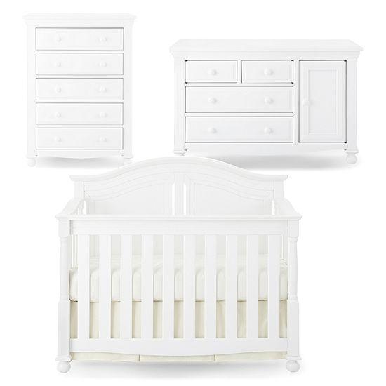 Bedford Baby Monterey 3-pc. Baby Furniture Set - White
