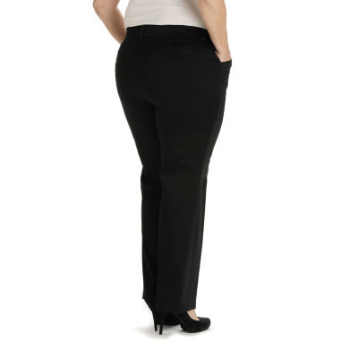 Lee® Modern Series Curvy Fit Twill Trouser Pants - Plus