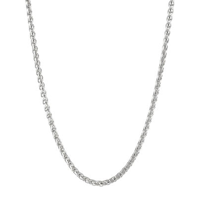 """Mens Stainless Steel 18"""" 3mm Wheat Chain"""