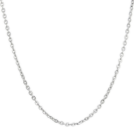 """Mens Stainless Steel 24"""" 2.5mm Cable Chain"""