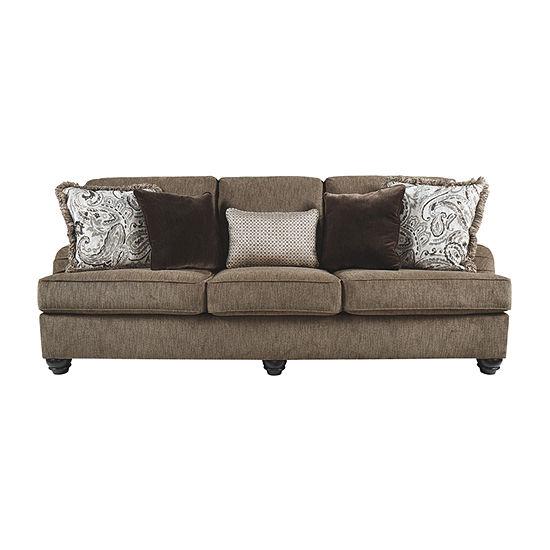 Signature Design by Ashley Braemar Track-Arm Sleeper Sofa