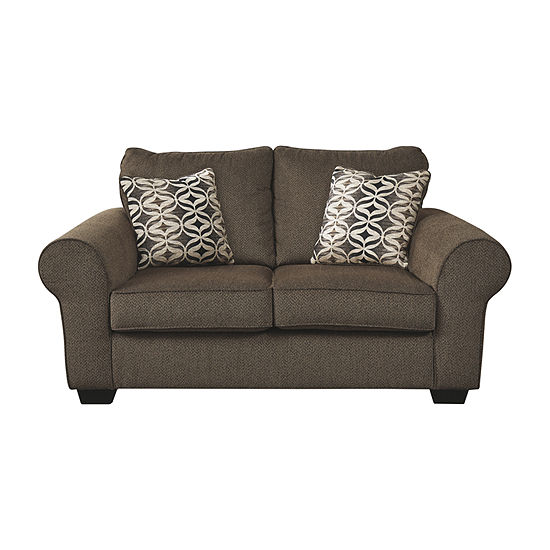 Signature Design by Ashley Nesso Roll-Arm Loveseat