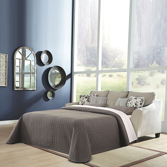 Signature Design by Ashley® Abney Curved Slope-Arm Sleeper Sofa