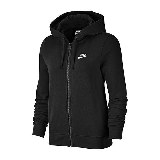Nike Womens Club Fleece Full Zip Hoodie