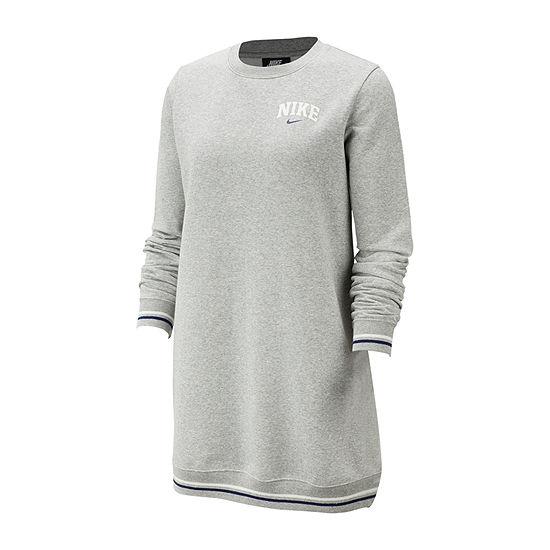 Nike Varsity Sweatshirt Dress