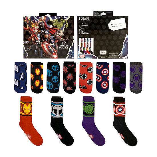 12 Days of Socks Marvel - Men's