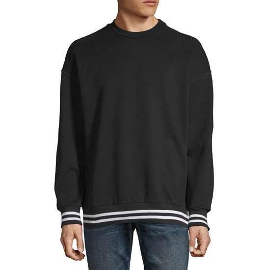 Arizona Oversized Mens Crew Neck Long Sleeve Sweatshirt