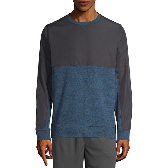 Xersion Mens Training Fleece Crewneck