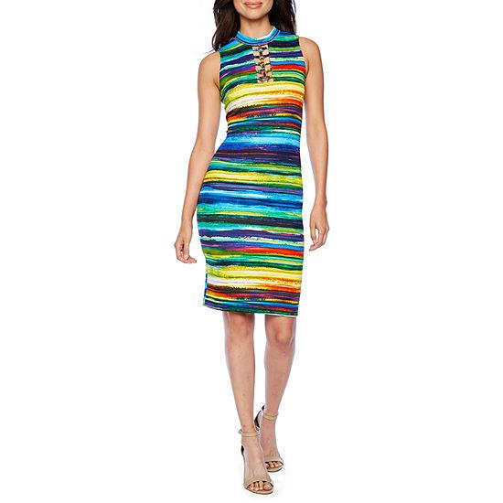 473d4ed71cd41 Bold Elements Sleeveless Bodycon Dress