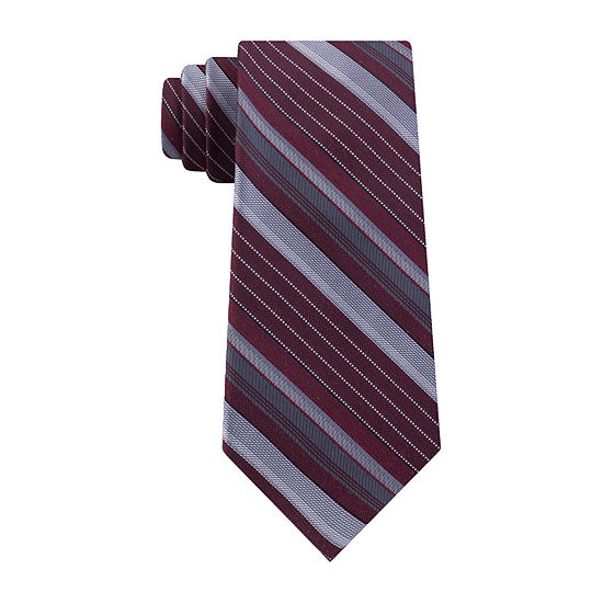 Shaquille O'Neal Xlong Striped Tie
