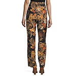 Worthington Womens Relaxed Fit Wide Leg Trouser