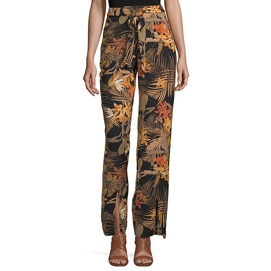 Worthington Relaxed Fit Wide Leg Trouser