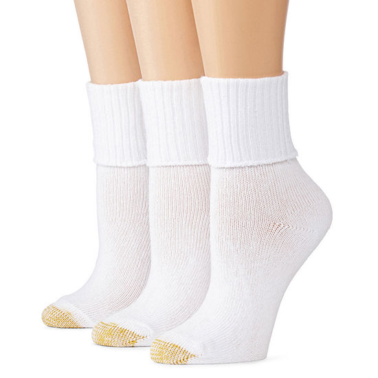 GoldToe® 3-pk. Bermuda Casual Socks
