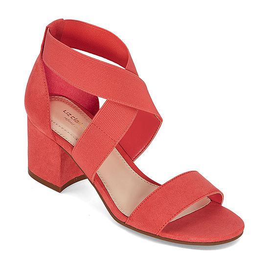 Liz Claiborne Womens Eaves Heeled Sandals